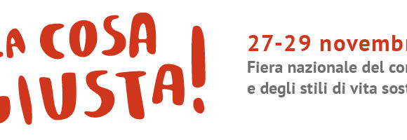 Save the date 2020 | Let's meet at Fa' la Cosa Giusta in Milan